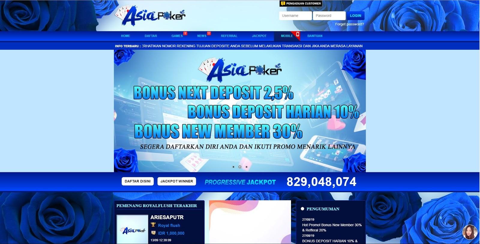 Skupnosti Sio Asia Poker Cara Mendaftar Situs Judi Online Hanya 5 Menit