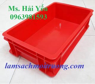 Cung cấp khay nhựa, thùng nhựa, thùng chứa vật tư giá rẻ