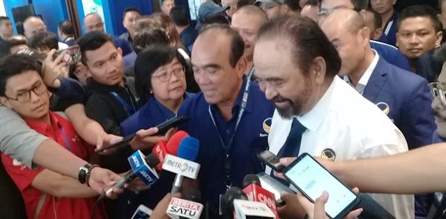 Di Depan Megawati, Surya Paloh Singgung Anies, Ridwan Kamil Hingga Khofifah
