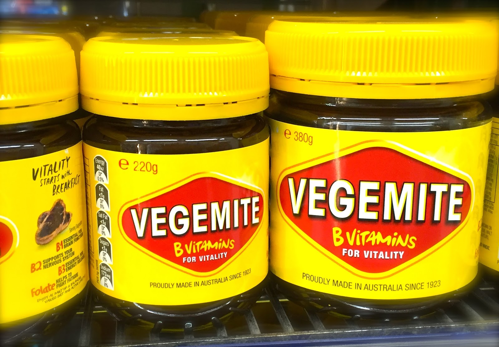 So in love with melbourne 5 facts about vegemite for Australian cuisine facts