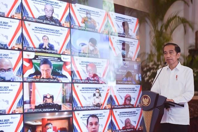 Buka Musrenbangnas 2021, Presiden Dorong Perencana Manfaatkan Perkembangan Iptek