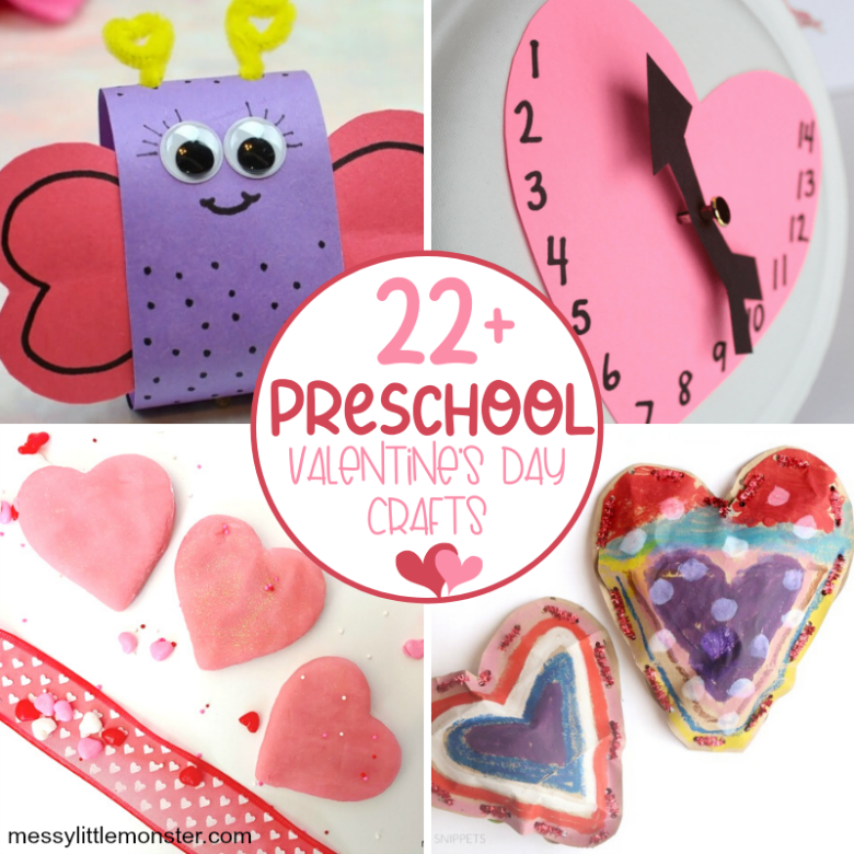 easy preschool valentine crafts