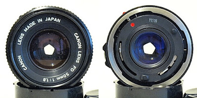 Canon New FD 50mm 1:1.8 #805