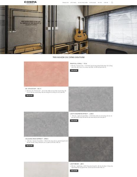 Theme blogger vật liệu xây dựng sơn bê tông