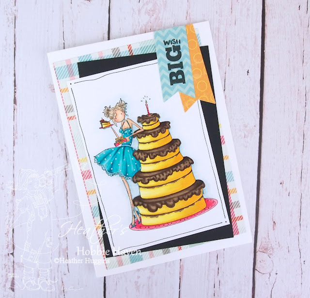 Heather's Hobbie Haven - Bianca Loves her Big Cake Card Kit