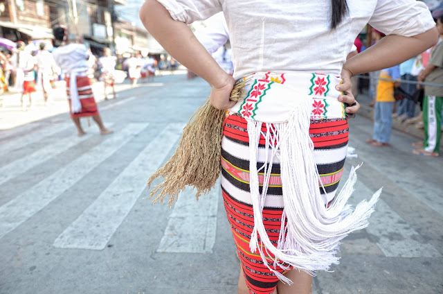 Cordilleran Indigenous Tapis Weaves and Rice Stalk Harvest Dance