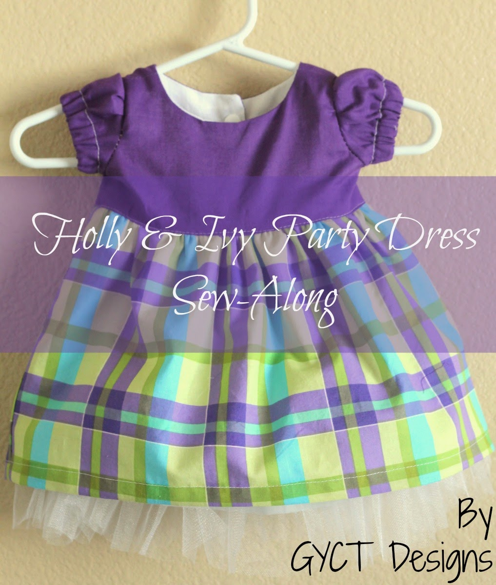 Holly & Ivy Party Dress Sew-Along - Day 2