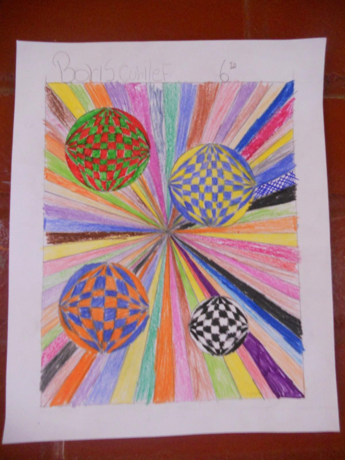 Artes Visuales en el Aula: formas y altocontraste de color