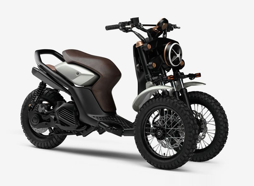 Yamahadan Tekerlekli Off Road Scooter Concept 03gen X