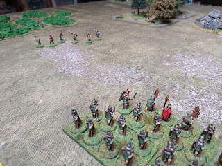 Gaulish slingers fire their missiles