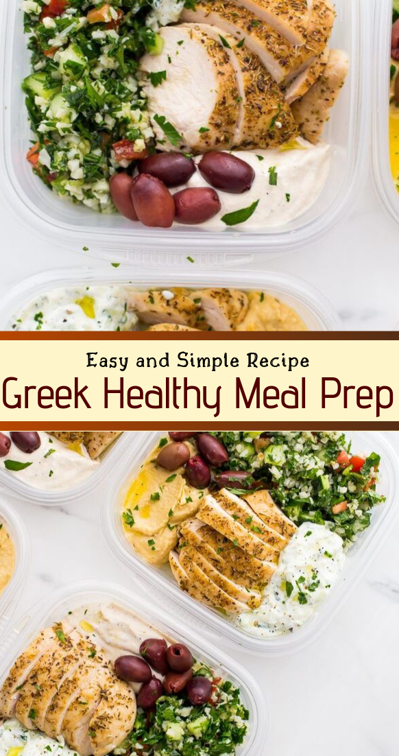 Greek Healthy Meal Prep Recipe #healthyfood #dietketo #breakfast #food