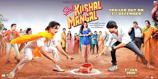 Sab Kushal Mangal Budget, Screens And Day Wise Box Office Collection India, Overseas, WorldWide