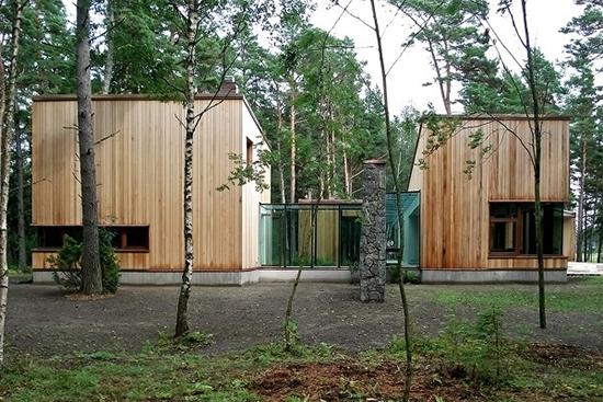 Desain rumah bergaya modern skandinavia