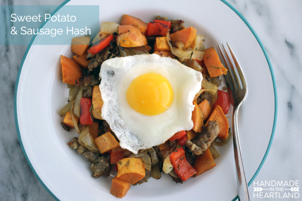 This is a perfect holiday breakfast hash recipe.