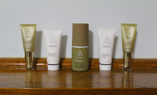 Alpha-H Liquid Gold Discovery Collection & Travel Packing Tips
