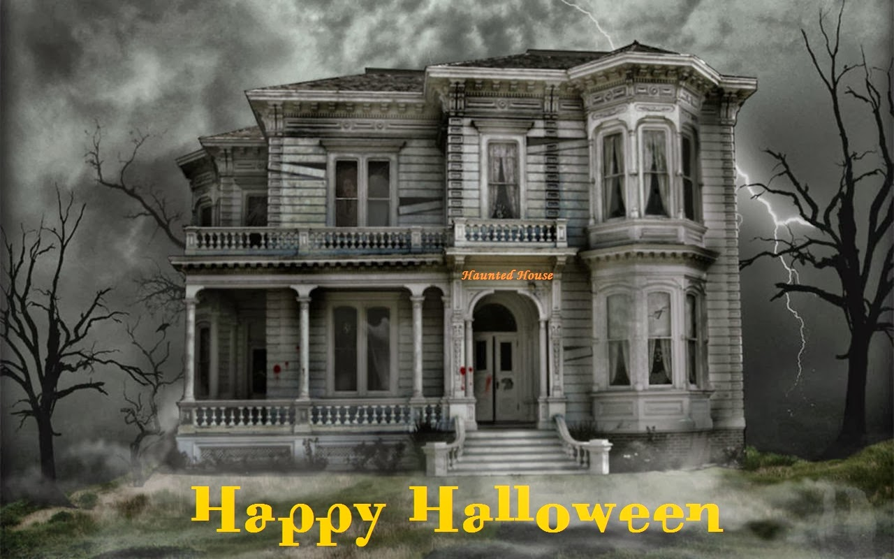 Khushi For Life Halloween Haunted House Hd Wallpaper Gallery