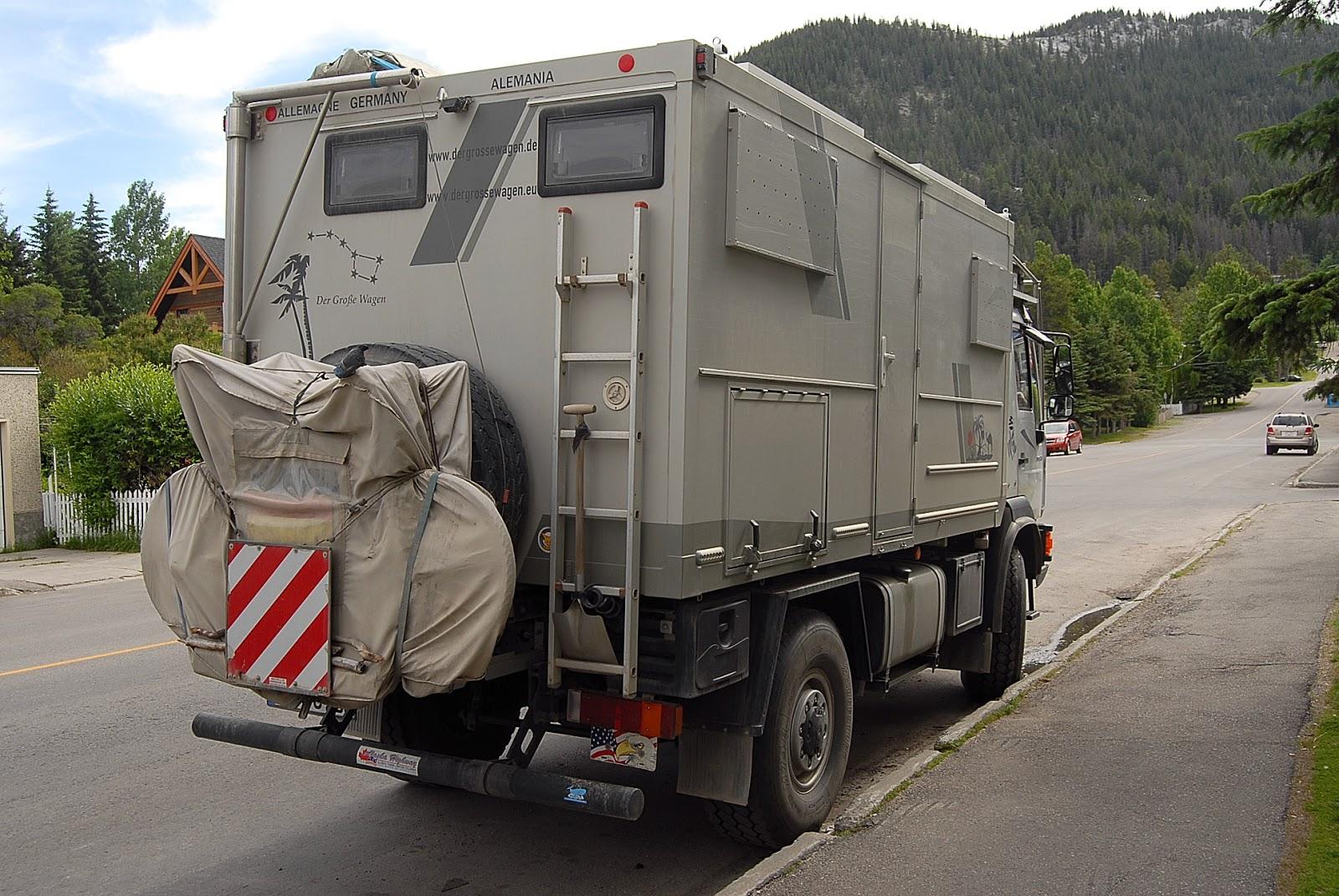autoliterate: MAN LE10 220 4x4 truck camper in Banff