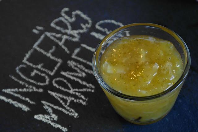 Marmelad med ingefära och citrus
