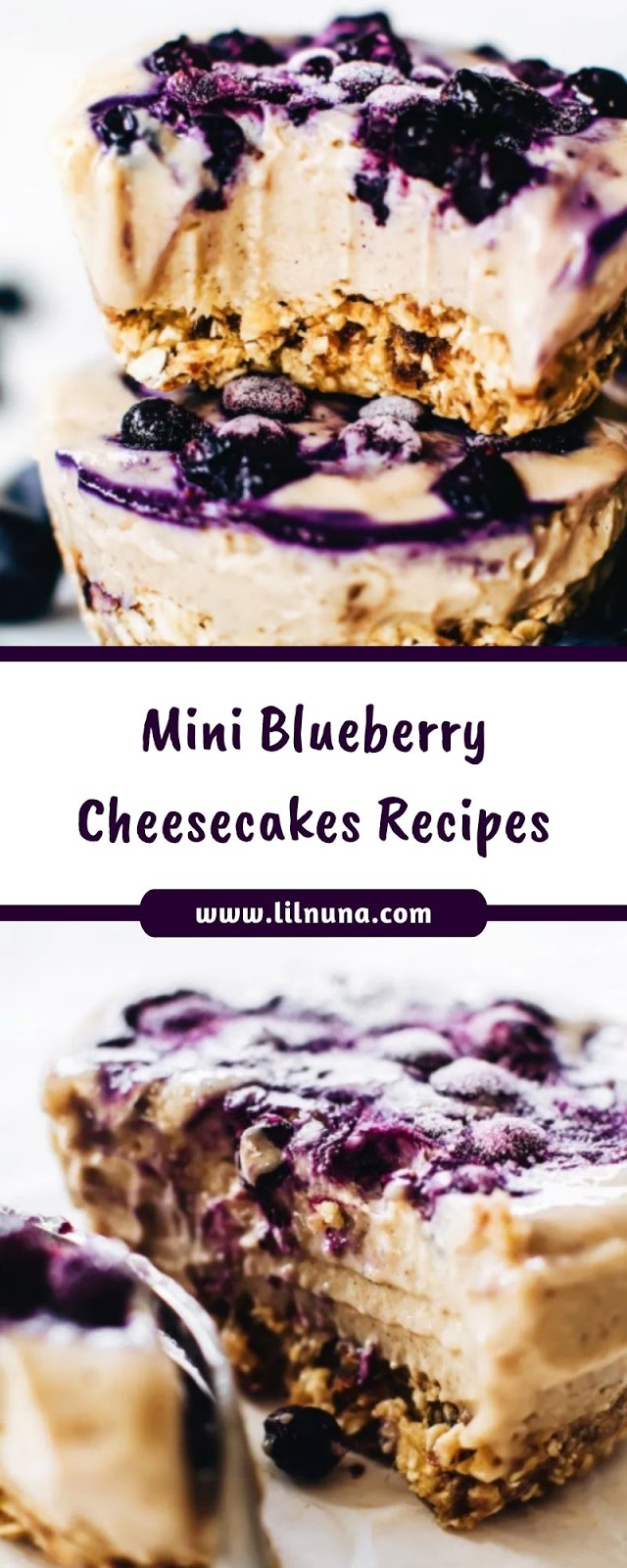 Mini Blueberry Cheesecakes Recipes