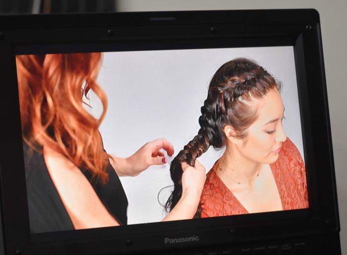 asian girl models braids