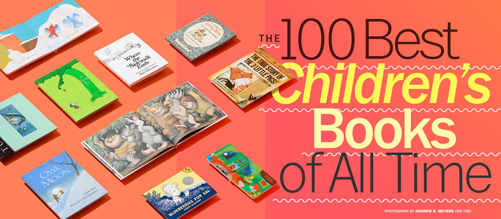 The Book Crowd: Time's 100 Best Children's Books of All Time