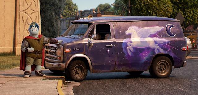 Cosplay Barley from Pixar's Onward