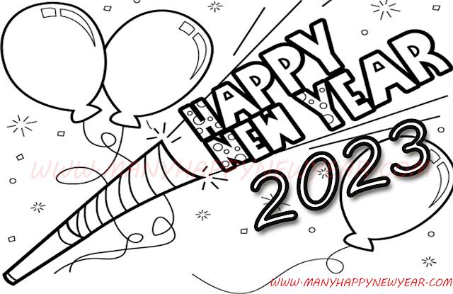 newyear2023clipart