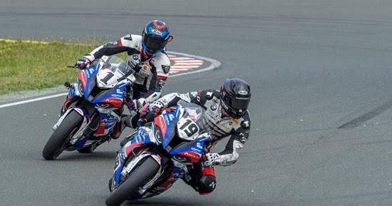 Das alpha Racing-Van Zon-BMW Team bleibt an der Spitze der Meisterschaft
