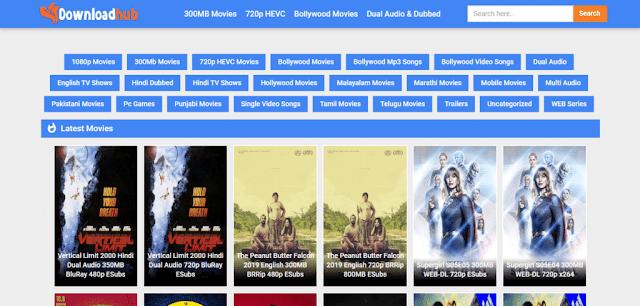 DownloadHub – 300MB Dual Audio Bollywood Movies Download