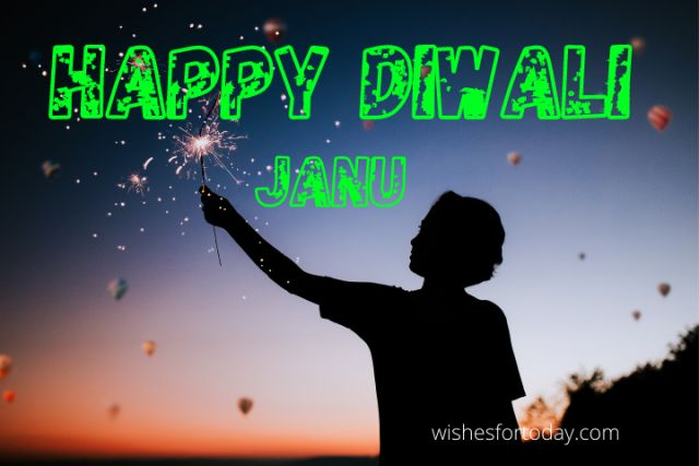 Happy Diwali images for Jaanu