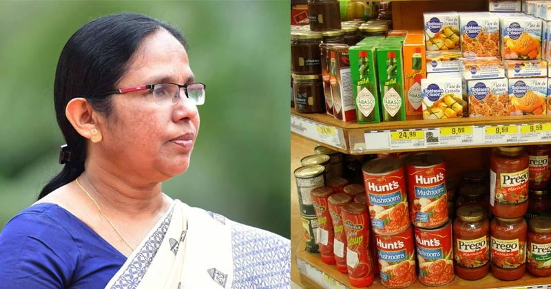 Covid 19: Does it affect imported food items? Minister Sailaja Teacher's response,www.thekeralatimes.com