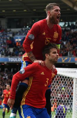 Euro 2016 goal spain