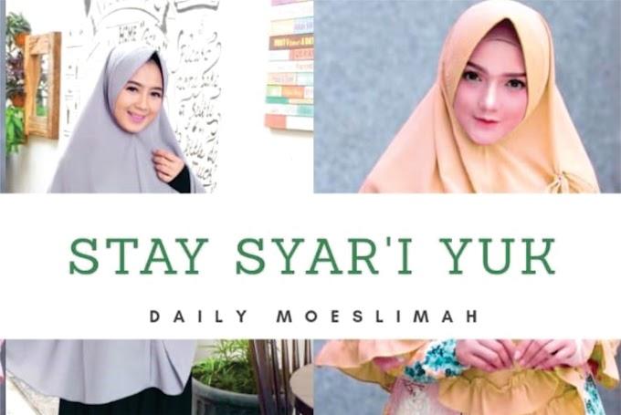 DAILY MOESLIMAH; Jual Hijab Syar'i dengan Harga Terjangkau Mulai dari 50K