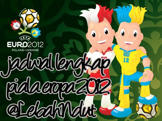Download Jadwal Euro 2012 PDF Jadwal Piala Eropa 2012 EXCEL RCTI