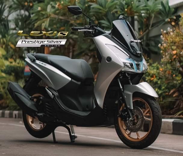 Warna Prestige Silver Yamaha Lexi 125 S
