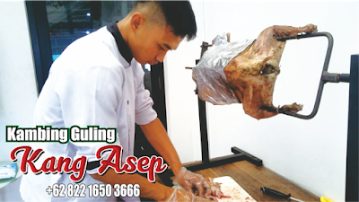 Empuk ! Bakar Guling Domba Kang Asep Lembang ,guling domba lembang,guling domba kang asep,guling domba,