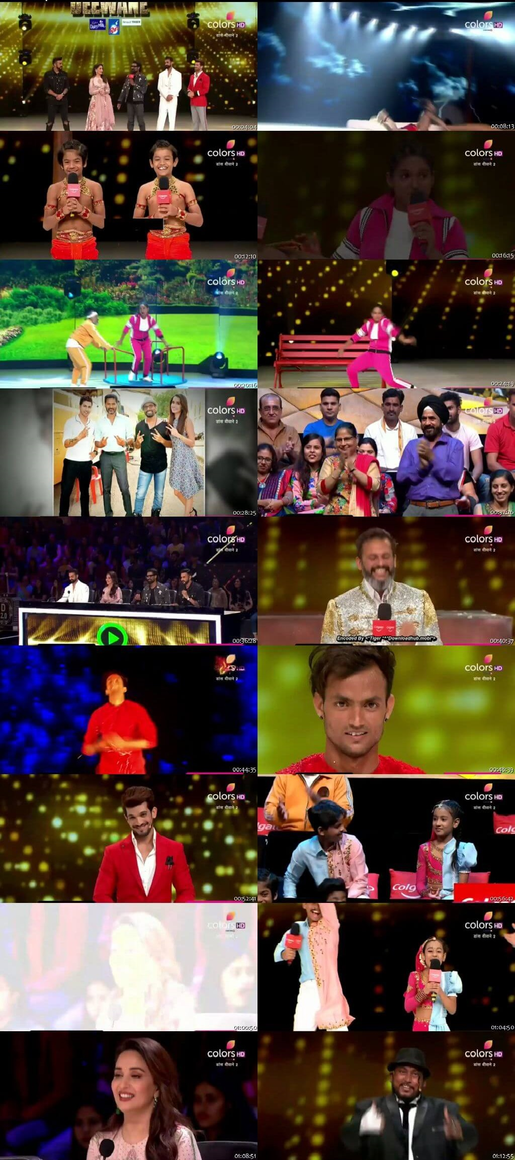 Screenshots Of Hindi Show Dance Deewane 2 7th September 2019 Episode 25 300MB 480P HD