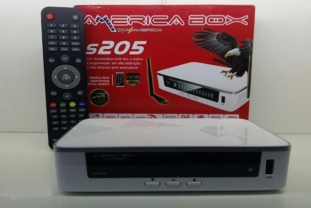 AMERICABOX S205 NOVA ATUALIZAÇÀO V2.49 - 26/08/2020
