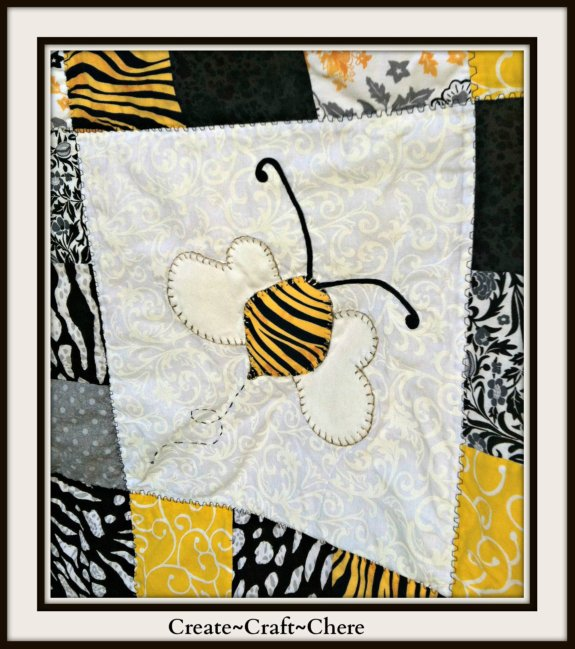 Stadium Blanket Sure To Create A Buzzzzz At Auction Fundraiser  Finish Your Crafts