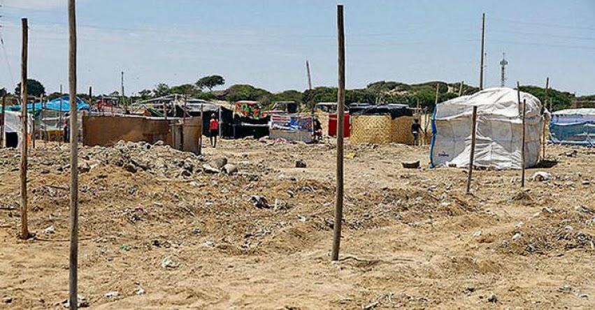 Alertan sobre invasiones en terreno estatal ubicado cerca al COAR en Eten - Lambayeque