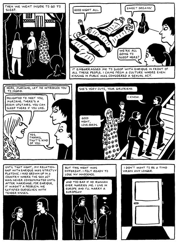 Read Chapter 7 - Hide and Seek, page 58, from Marjane Satrapi's Persepolis 2 - The Story of a Return