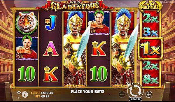 Main Gratis Slot Indonesia - Wild Gladiators (Pragmatic Play)