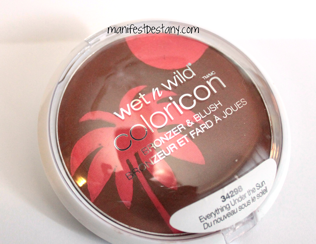 Wet n Wild Coloricon Everything Under The Sun Bronzer/Blush