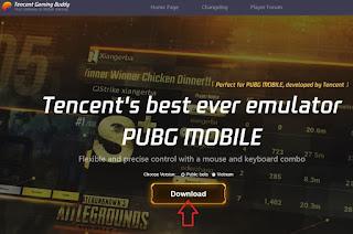 تحميل محاكى اندرويد Tencent Gaming Buddy