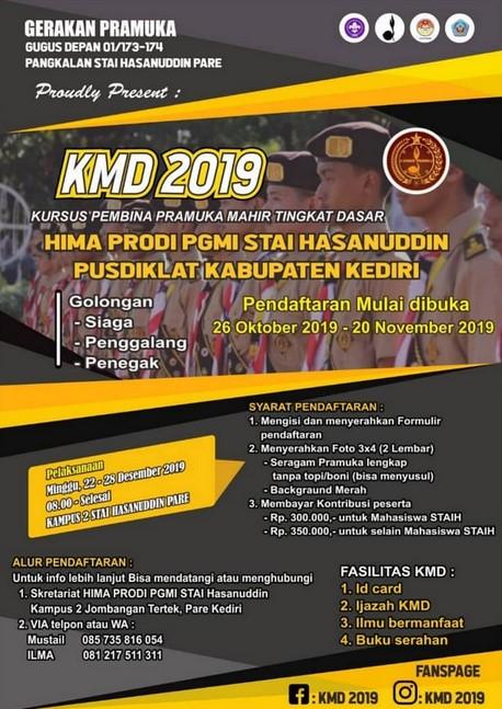 KMD STAI Hasanuddin Pare, Ayo ikut!