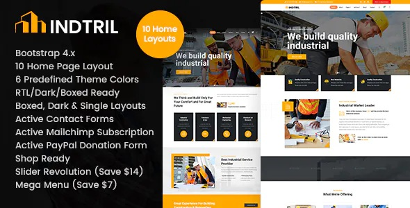 Best Construction Renovation HTML Template