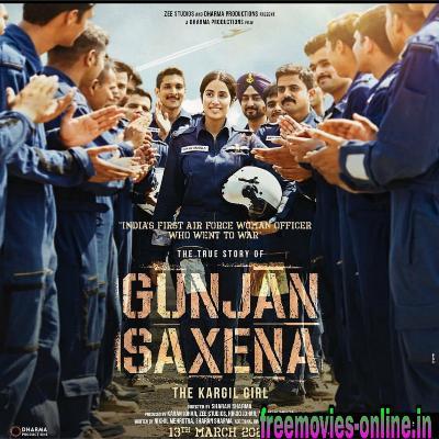 Gunjan Saxena: The Kargil Girl  Full hd 1080p 480p movie download online leaked by filmymaza, filmywap, khatrimaza, tamilrockers