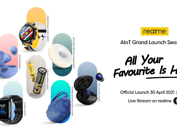 Realme will be making a Season 3 Grand Launch for all your favourite AiOT!