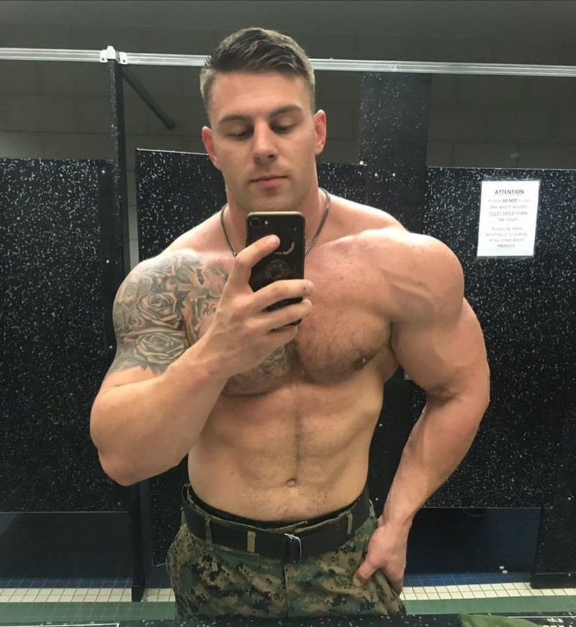 huge-muscle-shirtless-uniformed-soldier