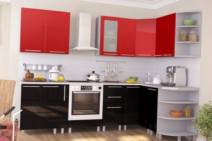 Red And White Kitchen Design Ideas Home Decor Photos Gallery